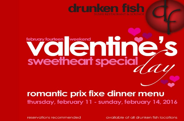 5 things to do this month in maryland heights february for Drunken fish menu